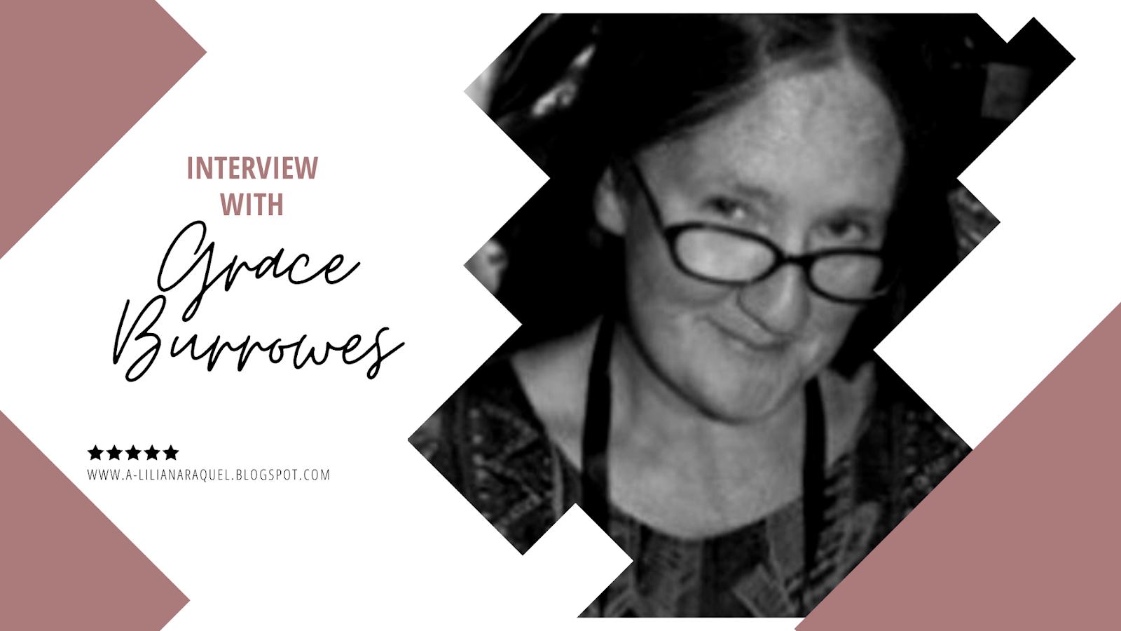 À Conversa Com… Grace Burrowes