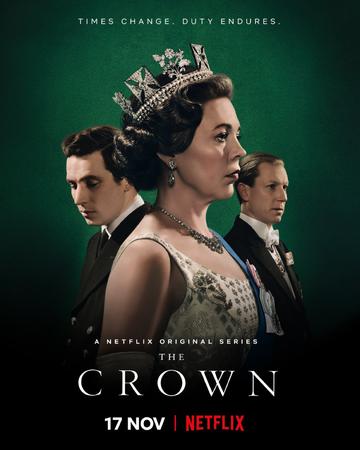 Poster the crown terceira temporada