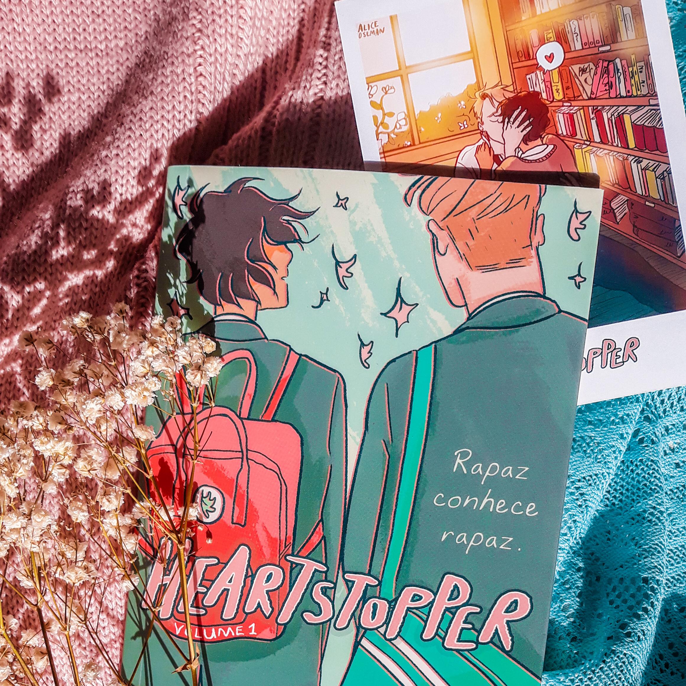 Livro Heartstopper da Alice Oseman