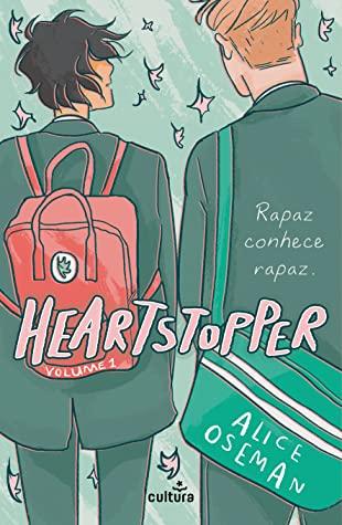 Capa do livro Heartstopper da Alice Oseman