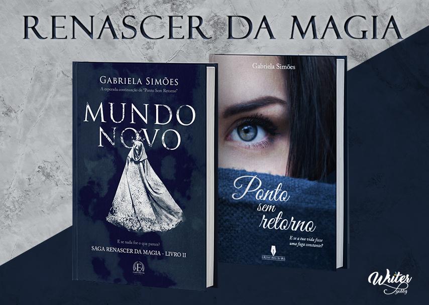 Os dois livros da Gabriela Simões.