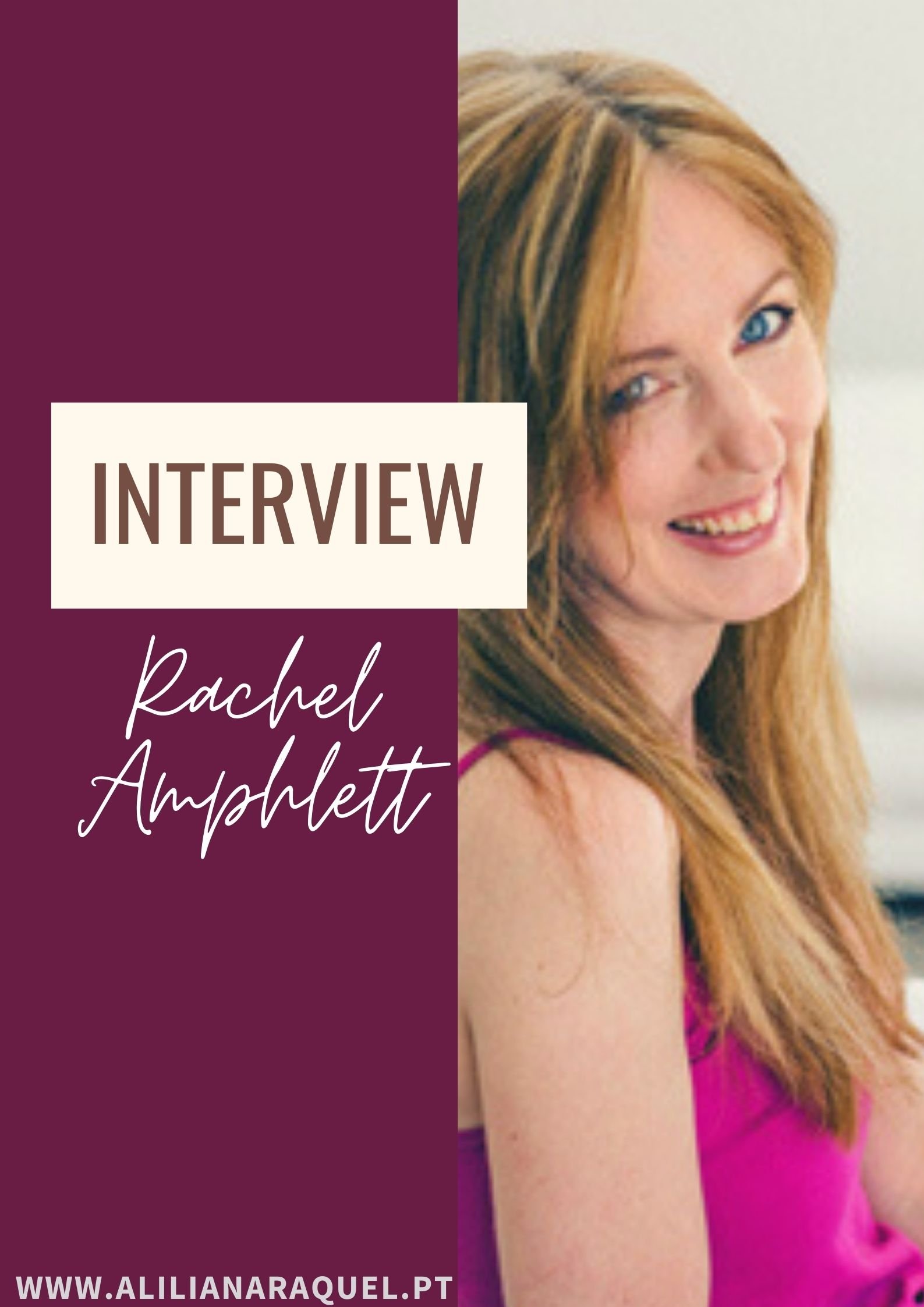 À Conversa com Rachel Amphlett | Entrevista
